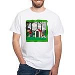 Where, Oh Where? White T-Shirt
