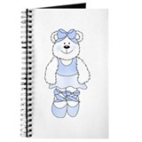 BLUE BALLERINA BEAR Journal