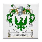 MacEniery Family Crest Tile Coaster