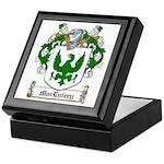 MacEniery Family Crest Keepsake Box