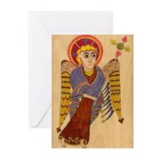 Book of Kells Greeting Cards (Pk of 10)