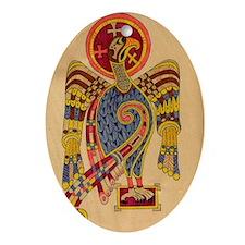 Book of Kells Celtic Keepsake (Oval)