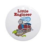 Little Engineer Ornament (Round)
