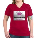 This is what a Wyoming Princess Looks Like Shirt