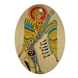 Lion of Mark Keepsake (Oval)