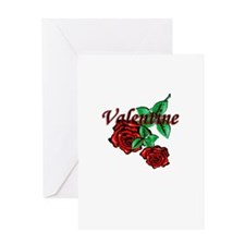 """Valentine, Be Mine..."" Greeting Card"