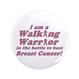 "3.5"" Walking Warrior's Button"