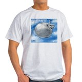 Size Does Matter C-5 Galaxy Ash Grey T-Shirt