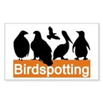 Birdspotting Rectangle Sticker