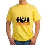 Birdspotting Yellow T-Shirt