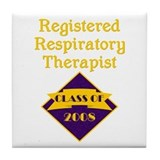 Respiratory Therapist Tile Coaster