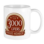 Lifelist Club - 3000 Mug