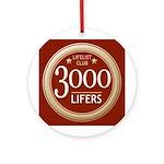 Lifelist Club - 3000 Round Medallion