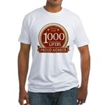 Lifelist Club - 1000 Fitted T-Shirt
