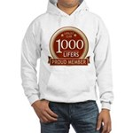 Lifelist Club - 1000 Hooded Sweatshirt
