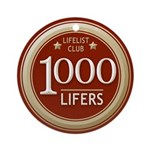Lifelist Club - 1000 Round Medallion