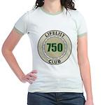Lifelist Club - 750 Jr. Ringer T-Shirt