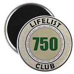 Lifelist Club - 750 Magnet