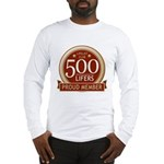 Lifelist Club - 500 Long Sleeve T-Shirt