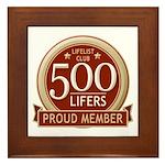 Lifelist Club - 500 Framed Tile