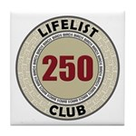Lifelist Club - 250 Tile Coaster
