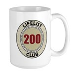 Lifelist Club - 200 Large Mug