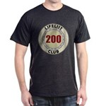 Lifelist Club - 200 Dark T-Shirt