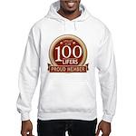 Lifelist Club - 100 Hooded Sweatshirt