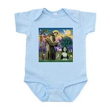 St. Francis & Beardie Infant Bodysuit