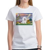 Cloud Angel & Bichon Tee