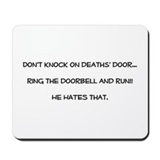 don't knock Mousepad