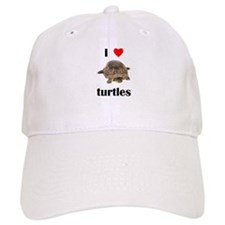 I love turtles Baseball Cap