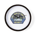 Mormon Temple Security Wall Clock