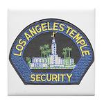 Mormon Temple Security Tile Coaster