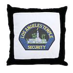 Mormon Temple Security Throw Pillow