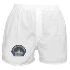 Mormon Temple Security Boxer Shorts