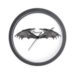 batty Wall Clock