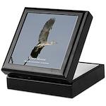 Grey Heron Keepsake Box