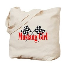 Mustang Girl Tote Bag