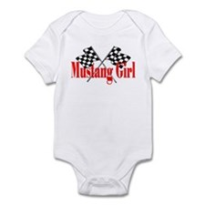 Mustang Girl Infant Bodysuit