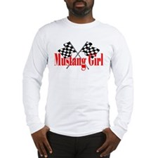 Mustang Girl Long Sleeve T-Shirt