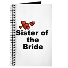 Hearts Sister of the Bride Journal