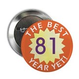 Best Year - Button - 81 (10 pack)