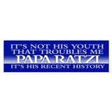PAPA RATZI Bumper Bumper Sticker