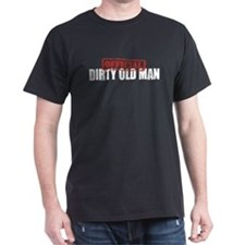 Official Dirty Old Man  T-Shirt