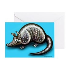 Dillo Greeting Card