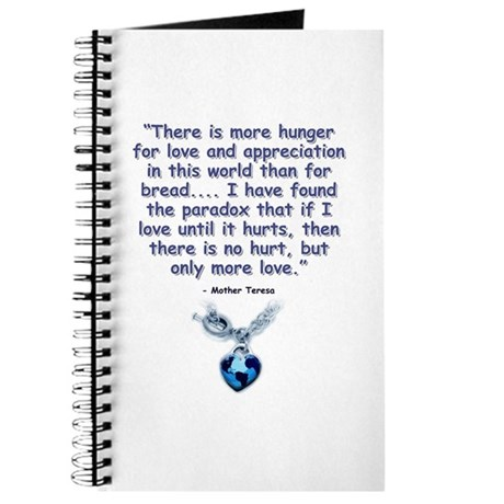 Mother Teresa Love Journal
