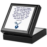 Mother Teresa Love Keepsake Box