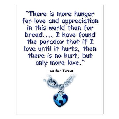 Mother Teresa Love Small Poster