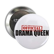 "Drama Queen 2.25"" Button (100 pack)"